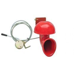 Elektryczny dzwonek 12V, Czerwony Zapisz się do naszego Newslettera i odbierz voucher 20 PLN na zakupy w VidaXL!