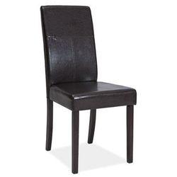 Krzesło C-114 ciemny brąz/venge
