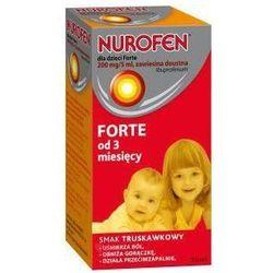 Nurofen dla dzieci Forte zawiesina doustna 200mg / 5ml od 3. miesiąca