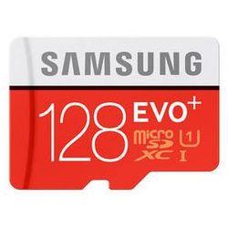 Karta pamięci Samsung Micro SDXC EVO+ 128GB Plus + SD adapter (MB-MC128DA/EU)