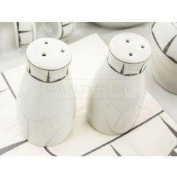Porcelanowa zastawa stołowa - RL-DWS68 SILVER#1