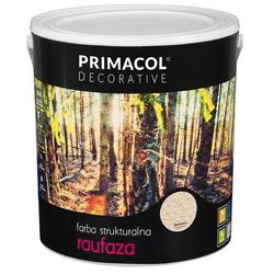 Farba strukturalna Raufaza Beżowy 5 l Primacol Decorative