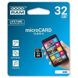 GOODRAM microSDHC 32GB CL4 DARMOWA DOSTAWA DO 400 SALONÓW !!