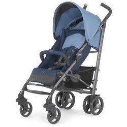 Chicco, Lite Way Top Blue, wózek spacerowy z pałąkiem Darmowa dostawa do sklepów SMYK