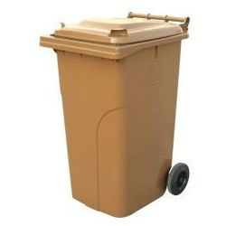 Pojemnik na odpady z tworzywa 120 l - bio