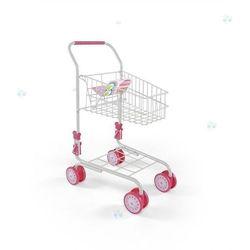 MILLY MALLY Wózek sklepowy Zosia biały