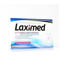 Laximed Kapsułki - dla niemowląt dzieci i dorosłych - - 10 kaps. (blister.)
