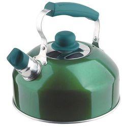Czajnik aluminiowy SAFE HOLD + LID zielony