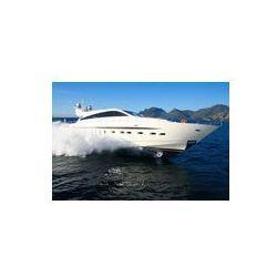 Foto naklejka samoprzylepna 100 x 100 cm - Jacht zatoki Cannes