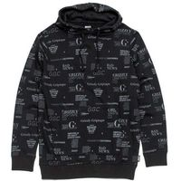 bluza GRIZZLY - Front Runner Pullover Hoody Black (BLK) rozmiar: XL