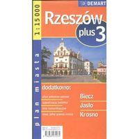 Rzeszów plus 3 1:15 000 plan miasta - DODATKOWO 10% RABATU i WYSYŁKA 24H! (opr. broszurowa)