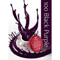 Semilac Żel UV Gel Color 100 Black Purple 5ml