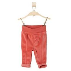 s.OLIVER Girls Baby Spodnie polarowe red