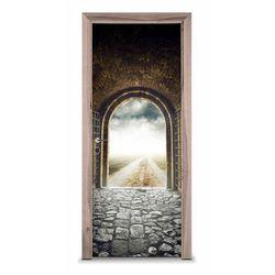 Naklejka na drzwi - W drogę 7258