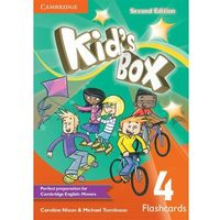 Kids Box Level 4 Flashcards (Pack of 103) (opr. miękka)
