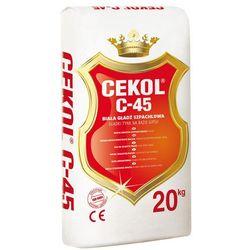 Masa szpachlowa C-45 Cekol, 20kg