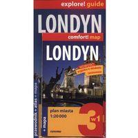 Londyn 3w1. Przewodnik. Mapa. Atlas (komplet) (opr. miękka)