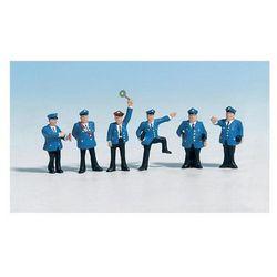 Figurki pracowników stacji w skali H0, malowane, 6 szt.