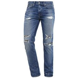 Abercrombie & Fitch SLIM STRAIGHT Jeansy Straight leg medium destroyed