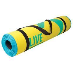 Mata do ćwiczeń fitness FLEXMAT III Spokey (żółta)