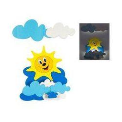 LED Lampa dziecięca 1xLED/1W - Słońce