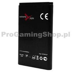Bateria Ekstremalne X Styl dla telefonu Nokia 6280, 6282, 6288, 9300, 9300-(1000mAh)