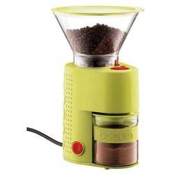 Bodum Bistro – elektryczny młynek do kawy, limonkowy - limonkowy