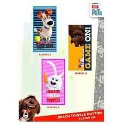 Ręcznik plażowy / kąpielowy Sekretne Życie Zwierzaków