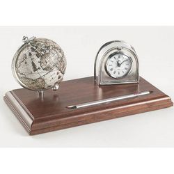 Orologio globus 10 cm Zoffoli
