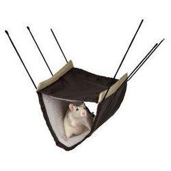 Pluszowy hamak dla szczurów i koszatniczki