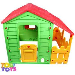 Domek dla dzieci 05 118x124x146cm Tobi Toys