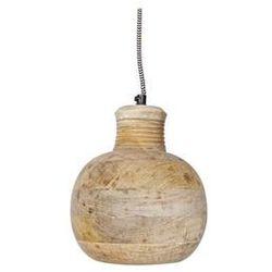 Be Pure :: Lampa wisząca Carving Pitcher duża (drewniana)