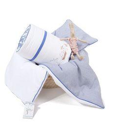 Navy Blue - Ochraniacz do łóżeczka