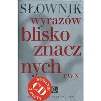 Słownik wyrazów bliskoznacznych + CD (opr. twarda)