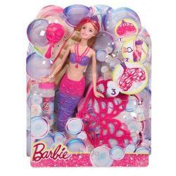 Lalka Barbie Bąbelkowa Syrenka CFF49 Bańki
