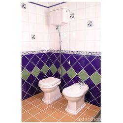 RETRO miska WC i zbiornik odpływ pionowy 1010/1080