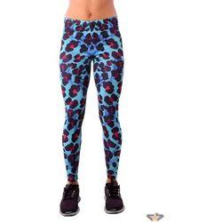 spodnie damskie (legginsy) IRON FIST - Waterco - BLU