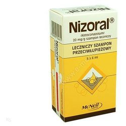 Nizoral, (20 mg/g), szamp.leczn.,6 ml, 6 saszet.