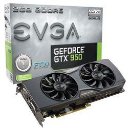 EVGA GeForce GTX 950 2048MB 128bit FTW GAMING