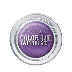 Maybelline Color Tatoo Metal 24HR - Cień do powiek w kremie 15 Endless Purple, 4 ml