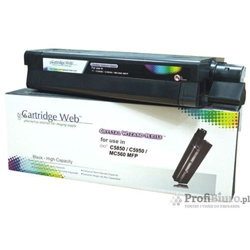 Toner Cartridge Web Black OKI C5850 zamiennik 43865724