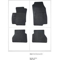 Dywaniki gumowe czarne z kompletem stoperów - Ford B-Max od 2012