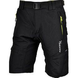 Męskie MTB rowerowe spodnie Silvini Rango MP857 black-lime