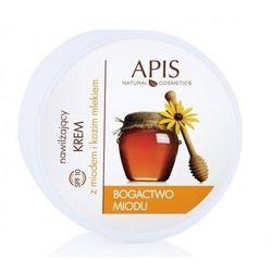 APIS - Nawilżający krem z miodem i kozim mlekiem 110 ml
