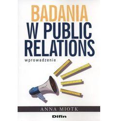 Badania w public relations (opr. miękka)