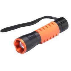 Latarka MACTRONIC Latarka diodowa ręczna CREE LED z gumowaną rękojeścią oraz funkcją FOCUS