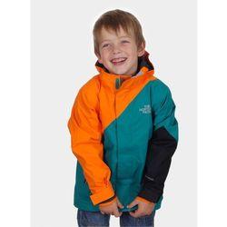Snow Alert Triclimate Jacket Boys - fanfare green