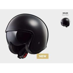 KASK MOTOCYKLOWY LS2 OF599 SPITFIRE SOLID BLACK