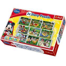 Klub Przyjaciół Myszki Miki 3xStory Puzzle