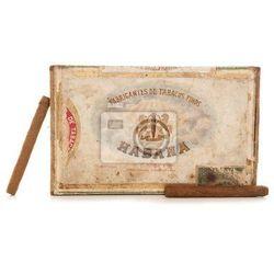 Obraz stare pudełko cygar Havana